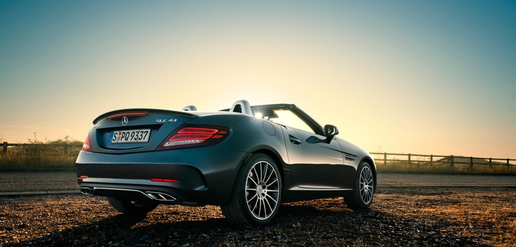 Mercedes-AMG SLC 43 UK Roadtrip