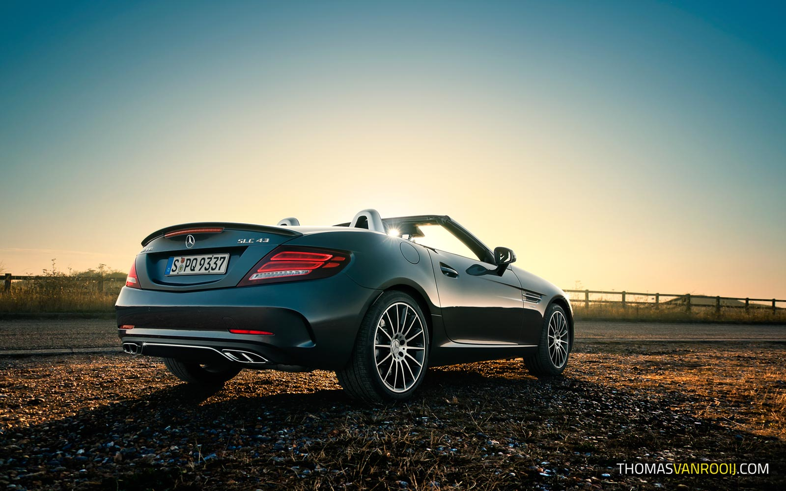 UK Roadtrip with the Mercedes-AMG SLC 43