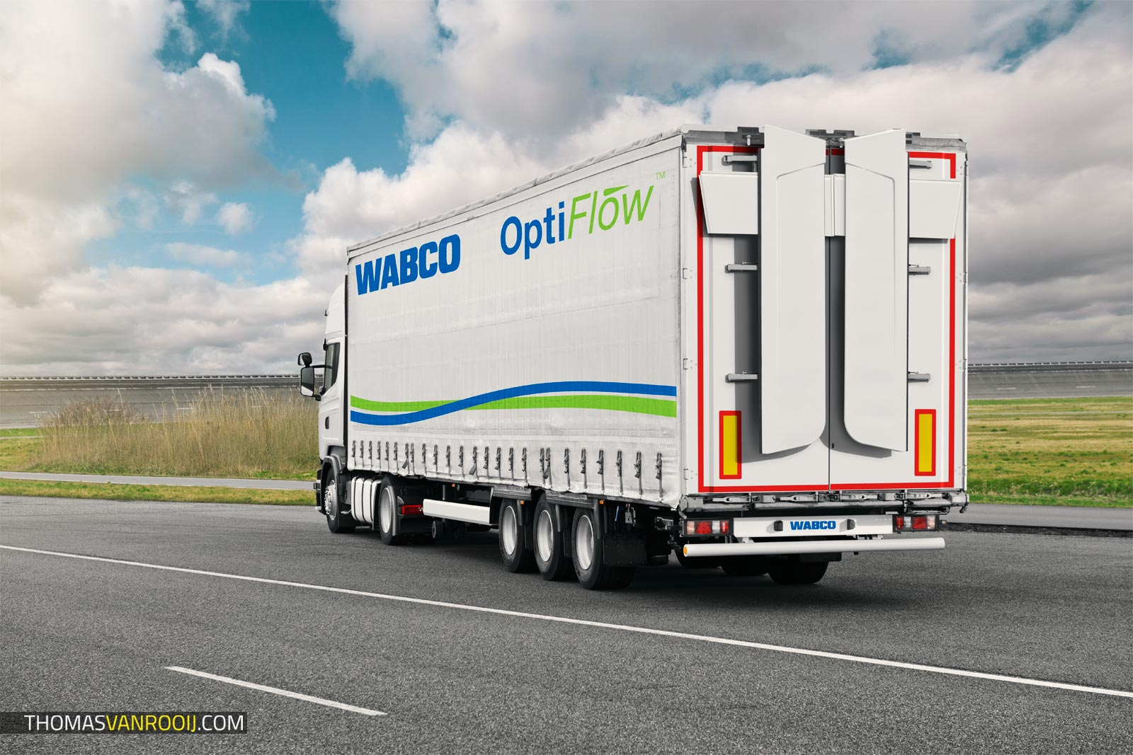 Behind the Scenes | WABCO Trailer Photoshoot