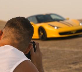 Ferrari 458 Italia Photoshoot
