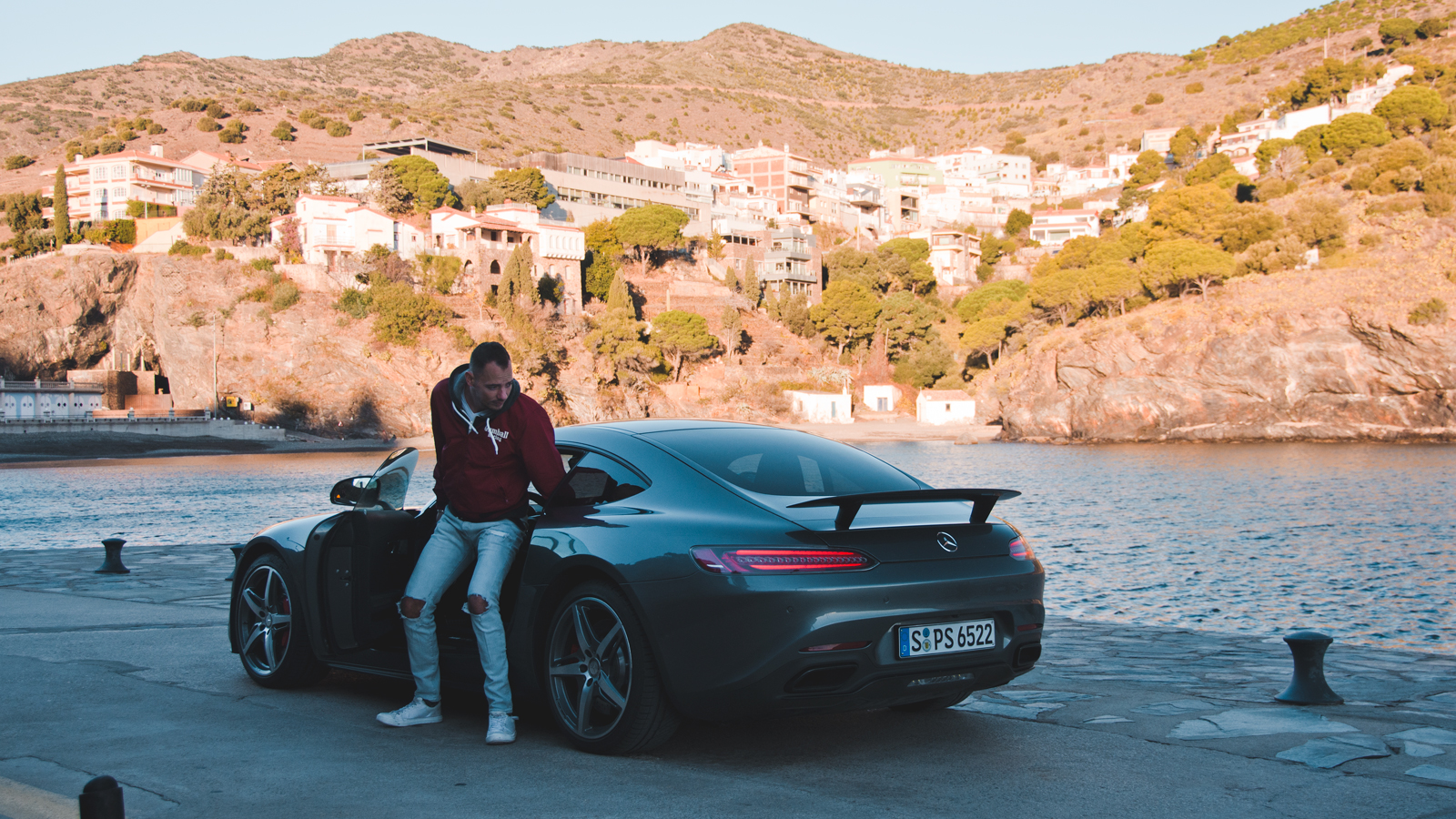 Behind the Scenes Mercedes-AMG GT S Roadtrip Thomas van Rooij Photography