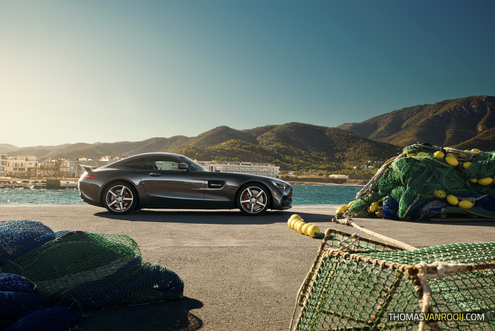 Mercedes-AMG GT S Roadtrip Thomas van Rooij Photography