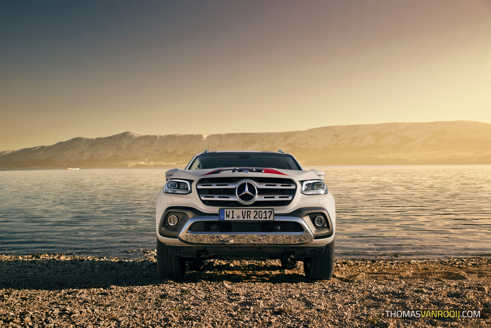 Mercedes-Benz X-Class Croatia Roadtrip